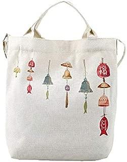 Gimax Shoulder Bags - Women's Handbags Female Cat Cartoon Cats Printed Beach Bag Canvas Tote Shopping Handbags Femme Bags Large Capacity Bags A8 - (Color: C)