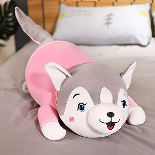 N / A Lindos Huskies con Ropa Juguetes de Peluche de Peluche Suave y Lindo Perro Almohada muñecos de Animales para niños niñas niñas Regalos de cumpleaños 40 cm