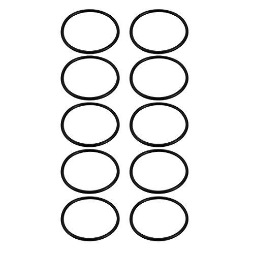/äu/ßerer Durchmesser Rubber Oil Seal O-Ring Dichtung 10 St/ück de St/ärke: 28 mm sourcingmap/® 2 mm