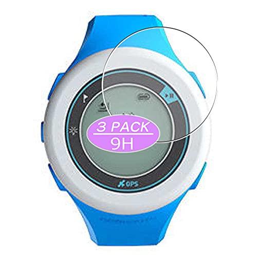 VacFun 3 Piezas Vidrio Templado Protector de Pantalla, compatible con ONmove 200, 9H Cristal Screen Protector Protectora Reloj Inteligente