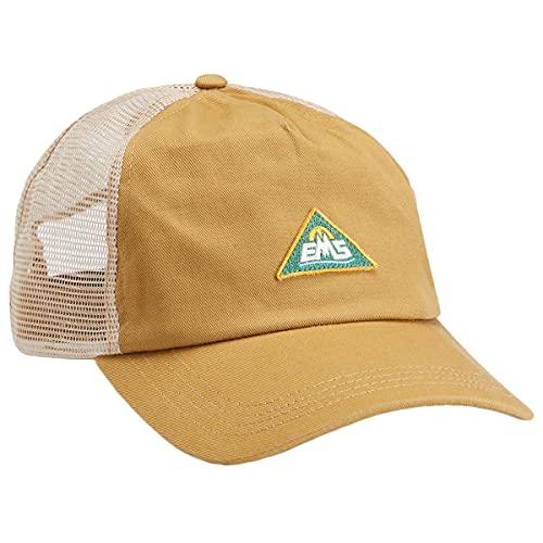 Eastern Mountain Sports Men's Triangle Patch Trucker Hat Khaki 1SZ