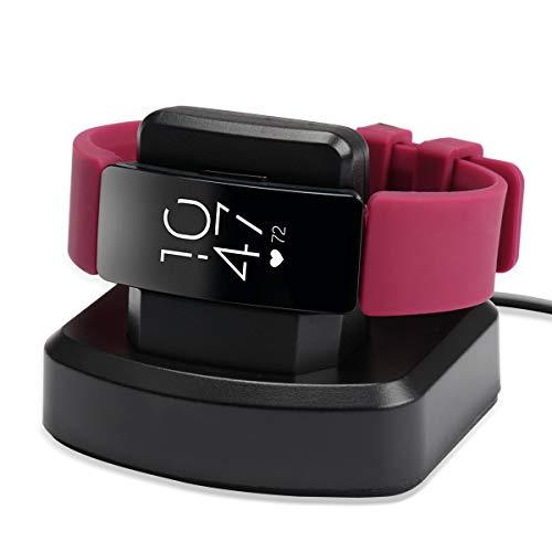 VANCHAN Kompatibel mit Fitbit Inspire/Inspire HR Ladestation,Ersatz Ladegerät Ladekabel Zubehör mit USB Kabel Kompatible Fitbit Inspire/Inspire HR Fitness Tracker