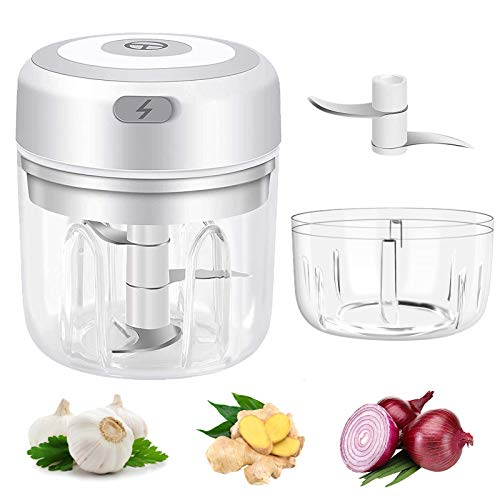 (50% OFF) Electric Mini Garlic Chopper Fast Press $12.99 – Coupon Code