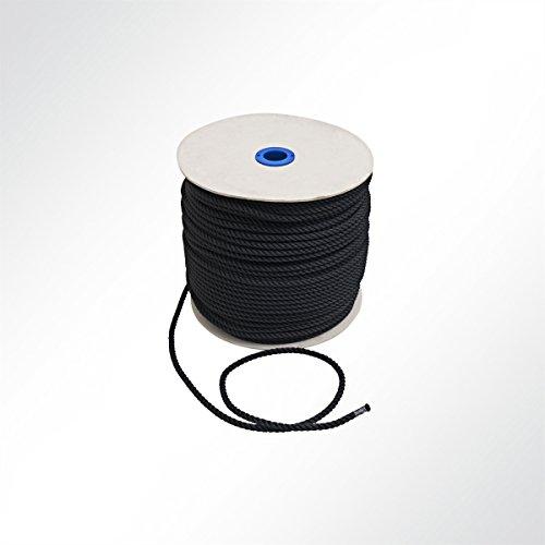 LYSEL Polyester Seil Boot Ankerleine Festmacherleine Schnur Tau Abspannseil Zeltleine 16 mm (10 m)