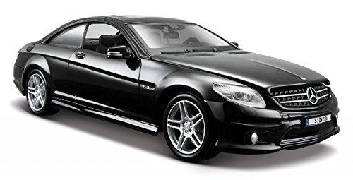 Mercedes C216 CL 63 AMG schwarz Modellauto 31297 Maisto 1:24