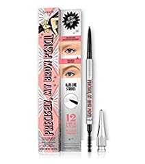 Benefit Precisely My Brow Pencil, Ultra Fine Brow Defining Pencil, Shade 3 - Warm Light Brown, 0.08g/0.002oz, Full Size Oh my WOW…precise & defined eyebrows! This ultra-fine eyebrow pencil draws incredibly natural-looking, hair-like strokes that last...
