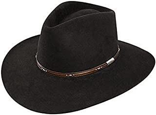 c4998e80b28 Amazon.com  Blacks - Cowboy Hats   Hats   Caps  Clothing
