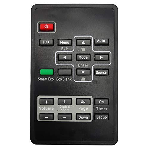 Leankle Mando a distancia 5J.J6H06.001 para BenQ Proyectores CP270 MP511+ MP512ST MP513...