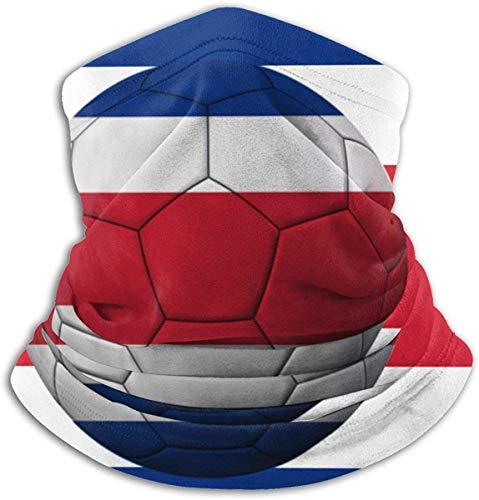 Polaina de cuello de la bandera de Ecuador a prueba de viento bufanda cubierta anti-polvo para hombres-SerbiaFootballFlag-