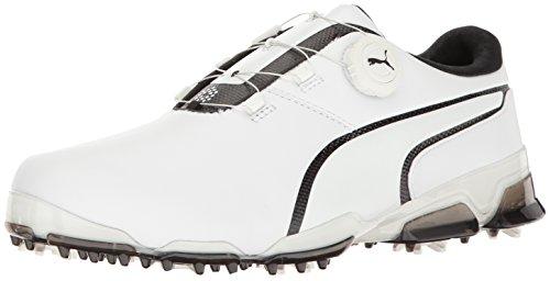 PUMA Men's Titantour Ignite DISC Golf Shoe, White...
