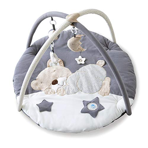 Mini Dream Activity Gym & Play Mat Baby Playmat Suitable from Birth for New Borns - Moon and Star