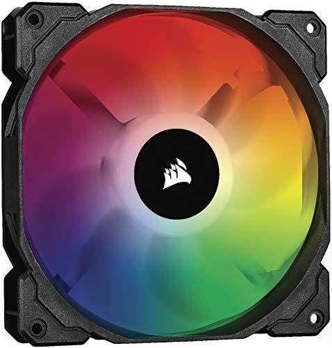 Corsair iCUE SP140 RGB PRO, 140mm RGB LED (Geräuscharm, hoher Luftdurchsatz, Gehäuse-Kühlung-Lüfter, Einzelverpackung) Schwarz
