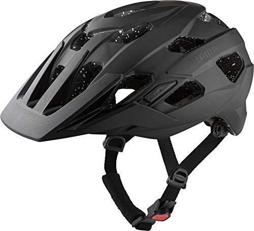 Alpina Unisex– Erwachsene ANZANA TOCSEN Fahrradhelm, Black matt, 57-61 cm