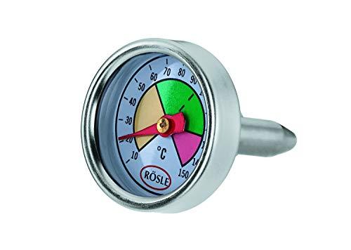 RÖSLE SILENCE Deckelthermometer, Hochwertiges Thermometer für Töpfe aus der RÖSLE SILENCE-Serie, Temperaturbereich bis +120°C