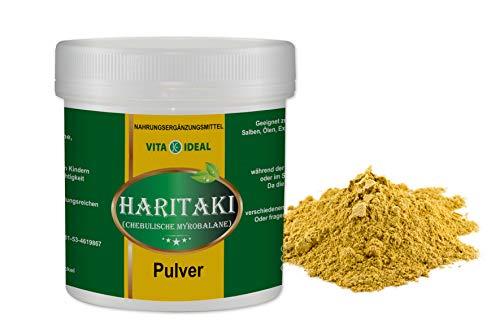 VITAIDEAL ® Haritaki PULVER 300g (Chebulische Myrobalane, Terminalia chebula) + Messlöffel von NEZ-Diskounter