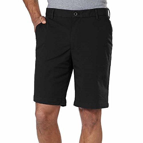 Izod Men's Performance Athletic Short Choose Size & Color (32, Black)