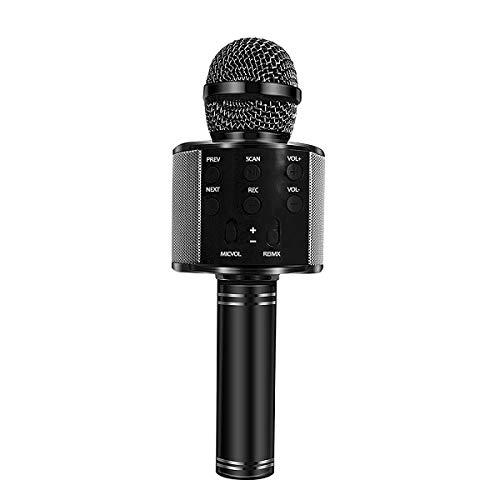 JVCAN Microfoon Bluetooth Draadloos USB, Professionele luidspreker Ktv Mobiele telefoonspeler Microfoon Muziek opnemen