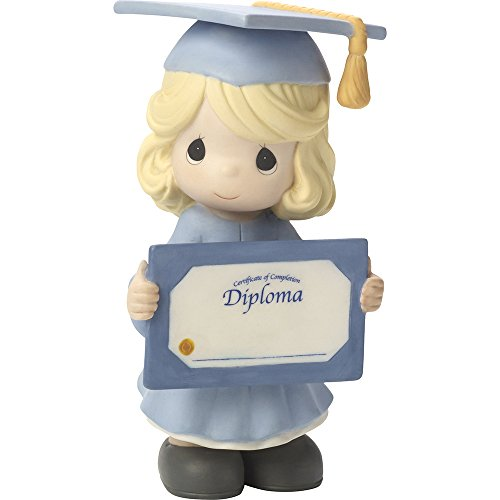 Precious Moments, So Proud Of You! Congratulations!, Bisque Porcelain Figurine, 164011