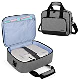 Luxja Projector Case, Projector Bag with Accessories Storage Pockets (Compatible with Most Major Projectors), Gray benq projectors May, 2021
