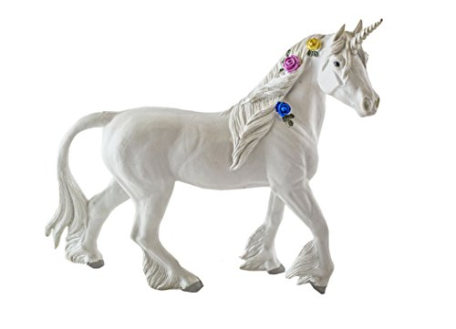 itsImagical Fairies - Figura de Unicornio, Unisex, Color Blanco