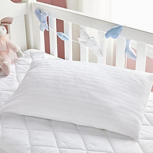 Pikolin Home - Funda de almohada 100% algodón cutí completamente transpirable confeccionada con tratamiento antiencogimiento