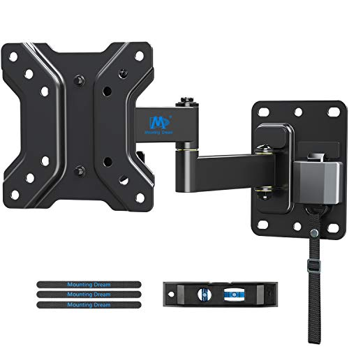 Mounting Dream Soporte de Pared TV Giratorio Inclinable Bloqueable para Caravana/Remolque/Barco para la Muchos los 10-26 Pulgadas LED, LCD y OLED TVs hasta 10kg, MAX. VESA 100x100mm (MD2209-03)
