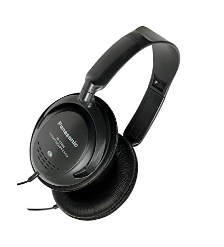 Panasonic RP HT225 - Headphones - full size - black