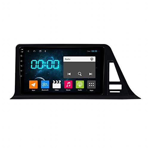 WHL.HH para CHR CH-R C HR 2016-2018 Androide 10.0 Doble Estruendo 9 Pulgadas Auto Radio Video Multimedia Jugador GPS Navegación Estéreo Auto Cabeza Unidad Apoyo SWC