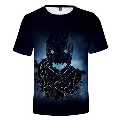 AIUIE Dead by Day-Light Unisex 3D Digitaldruck Rundhals T-Shirt Top Weste M
