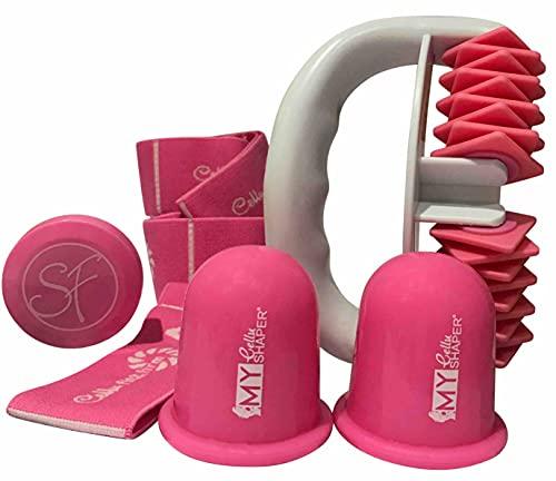 Stephanie Franck Beauty Cellulite Set2 mit Roller zwei Saugglocken und Fitnessband
