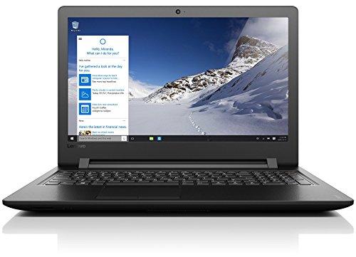 """Lenovo, Notebook ideapad 110, 15,6"""" Full HD, colore nero"""
