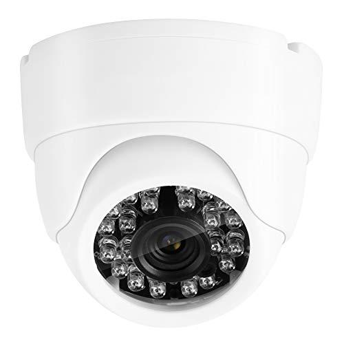 Cámara de Vigilancia Cámara Inteligente 1080P Cámara De Seguridad Al Aire Libre IP IP De Gran Angular Interiores Infrarrojos Cámara De Videovigilancia 2048 * 1536 DC 12V Blanco 100-240V