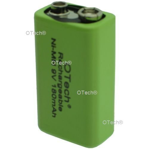 accu rechargeable 6LR61 9v-180mah ni-mh