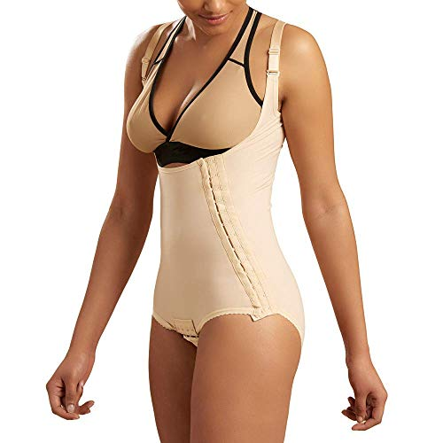 Marena Recovery Panty-Length Post Surgical Compression Girdle with High-Back
