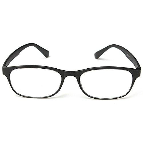MJJEsports Black Matte Oppervlak Lezen Bril Draagbare Lezen Bril, 3.0, 1