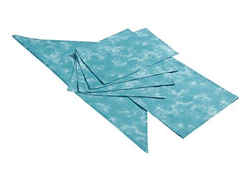 BEST Nappe, Surnappe, Turquoise, 80 x 80 x 0,3 cm, 4851774