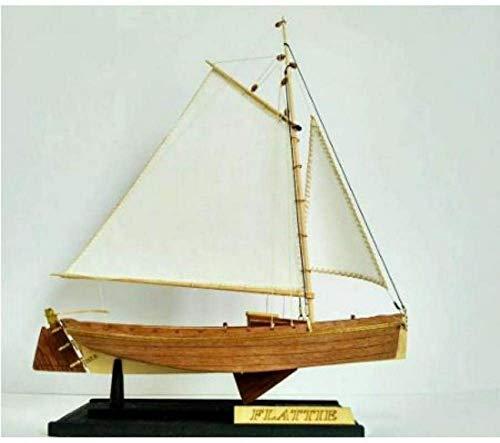 RUXMY Decoración Modelo de velero Hobby Ship Kit de Modelo de Madera: Escala 1/35 Modelo de Barco de Pesca Kits de construcción de Modelo de Barco DIY