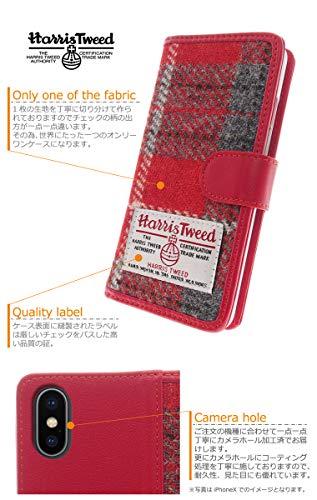 trendgate『HARRISTWEED(ハリスツイード)手帳型スマホケース』