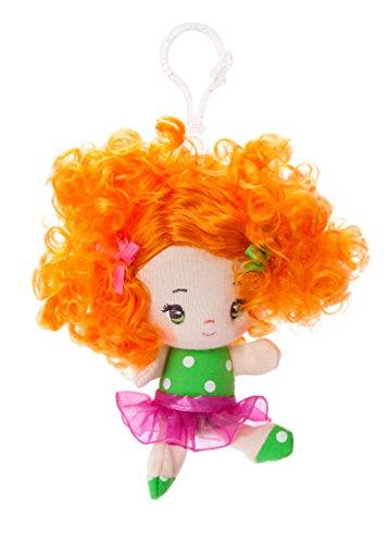 Aurora World Pince à Dos Cutie Curls Abby 10,2 cm