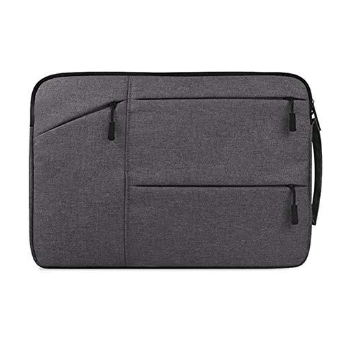 Professionelle Laptop-Tasche Aktentasche Laptop-Hülsen-Beutel for Macbook Luft Pro Retina 11 12 13 14 15 15,6-Zoll-Laptop-Kasten PC-Tablette-Kasten-Abdeckung for Xiaomi Air HP Dell Bussiness Tablet Tr