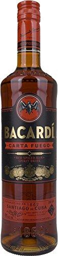 Bacardi Carta Fuego Red Spiced Rum (1 x 0.7 l)