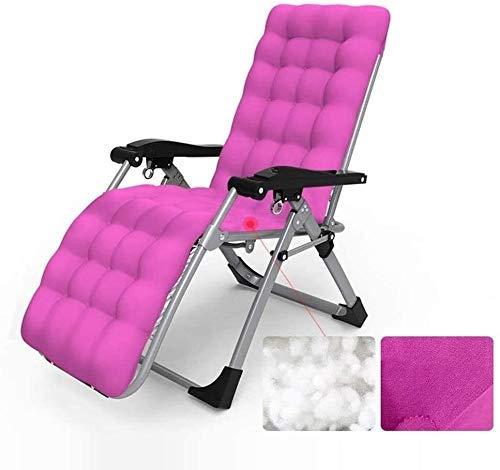 FTFTO Bureau Life Patio Chaise Longue Zero Gravity Jardin Extérieur Réglable Pliable Chambre Chaise Longue Chaise Longue Transat Chaise Longue Supports 200 kg