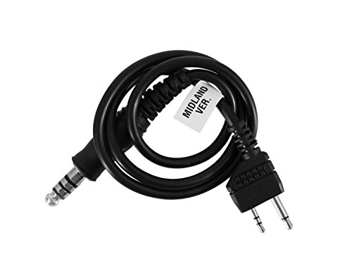 Z-Tactical Adapterkabel zur Nutzung mit Midland Funkgeräten [Z124]