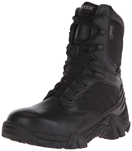 Bates Women's GX-8 Gore-Tex Waterproof Side Zip Boot, Black, 8 M US