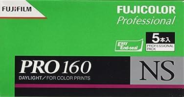 FUJIFILM カラーネガフイルム(プロフェッショナル用) フジカラー PRO 160 NS ブローニー 12枚 5本 120 PN 160 NS EP 12EX 5