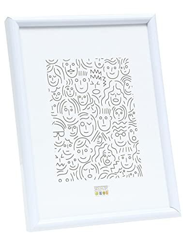 Deknudt Frames S011S1 20 x 30 cornice bianco resina, legno