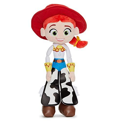 Disney 37269 Pixar Toy Story 4 Jessie - Muñeca Blanda en Caja de Regalo (25 cm), Color Rojo