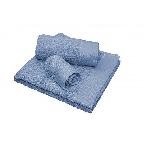 Privata Home - Set 3 Toallas 450 GMS - Azul