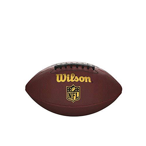 Wilson NFL Heckklappen-Fußball, Braun, offizielle Größe
