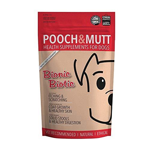 Pooch & Mutt Dog Bionic Biotic Healthy Supplement for Skin Coat Digestive Tract (Bionic Biotic)